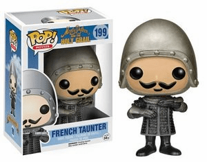 Funko Pop Movies Vinyl 199 Monty Python and the Holy Grail French Taunter Figure