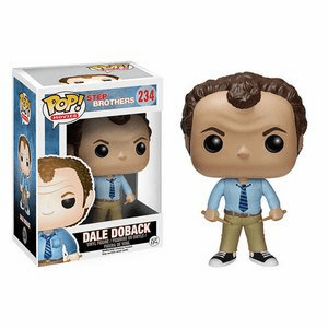 Funko Pop Movies Vinyl 234 Step Brothers Dale Doback Figure