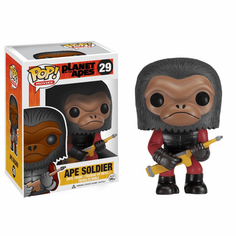 Funko Pop Movies Vinyl 29 Planet of the Apes Ape Soldier Figure