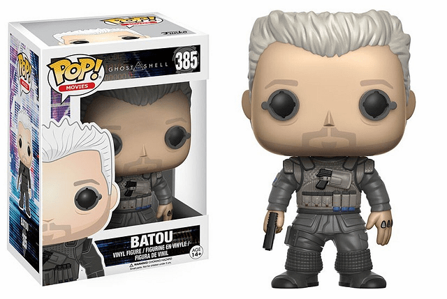 Funko Pop Movies Vinyl 385 Ghost in the Shell Batou Figure