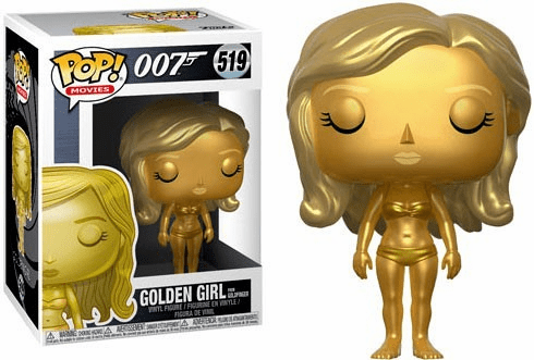 Funko Pop Movies Vinyl 519 James Bond Golden Girl Figure