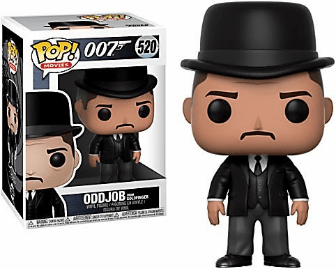 Funko Pop Movies Vinyl 520 James Bond Oddjob Figure