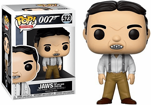 Funko Pop Movies Vinyl 523 James Bond Jaws Figure