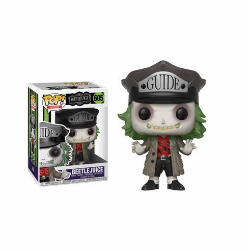 Funko Pop Movies Vinyl 605 Beetlejuice Figure