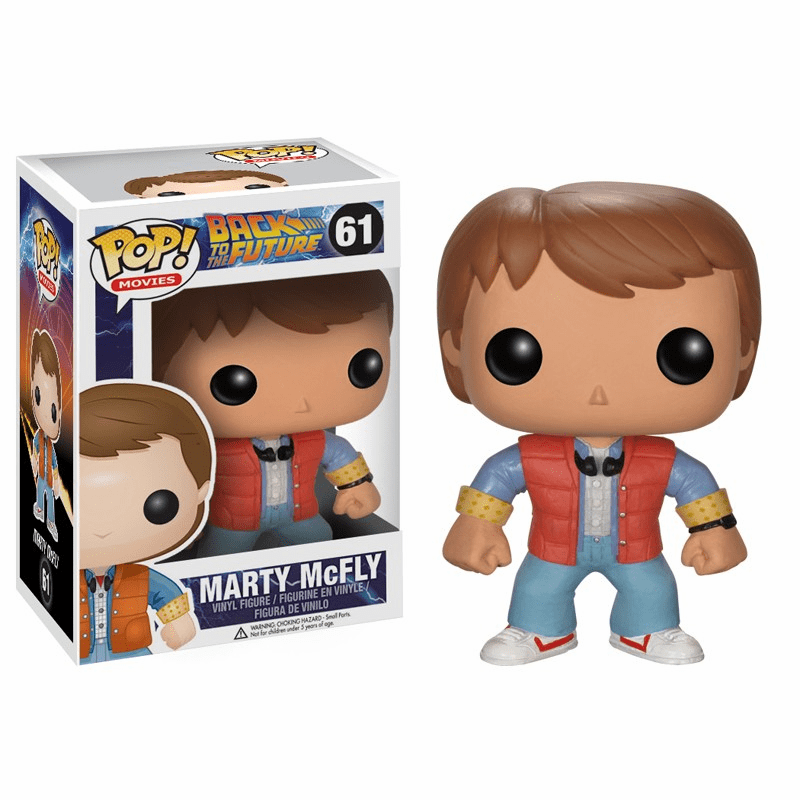 Funko Pop Movies Vinyl 61 Back to the Future Marty McFly Figure