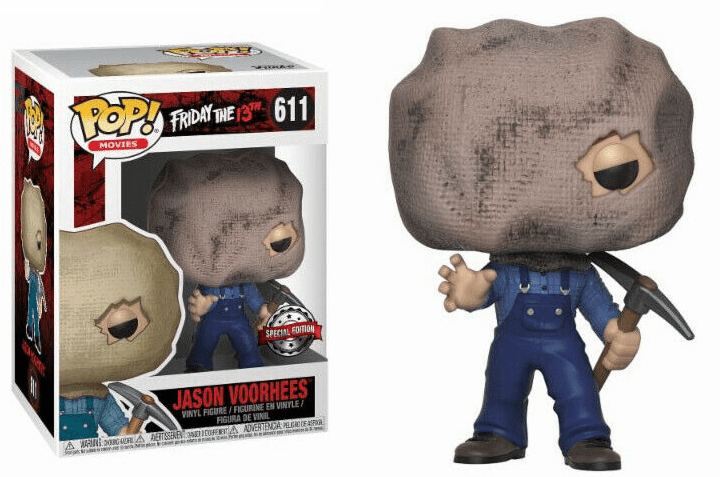 Funko Pop Movies Vinyl 611 Friday the 13th Jason Voorhees Figure