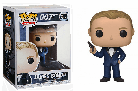 Funko Pop Movies Vinyl 689 James Bond from Casino Royale Figure