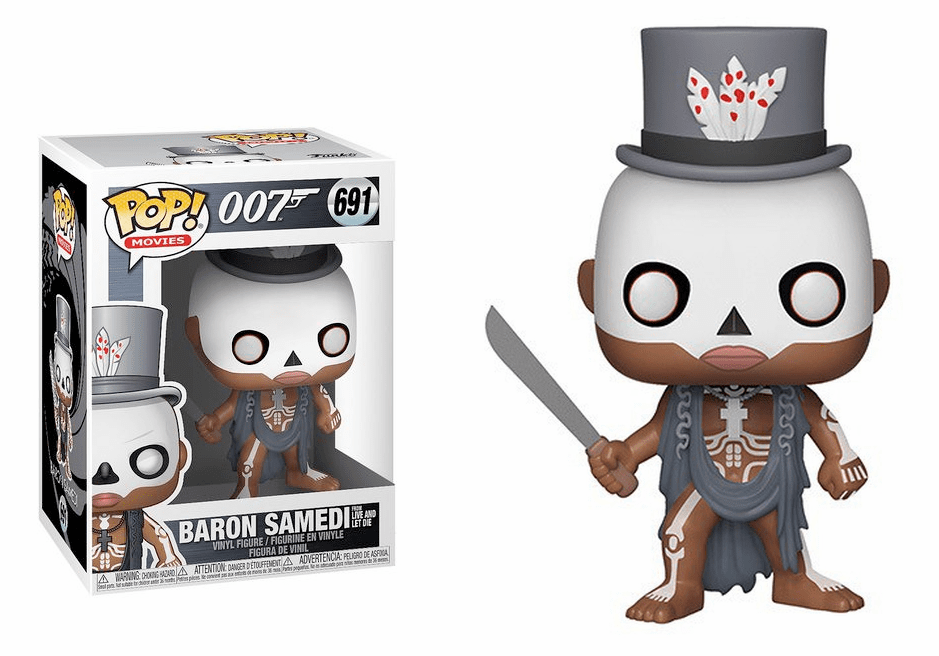 Funko Pop Movies Vinyl 691 James Bond Baron Samedi Figure
