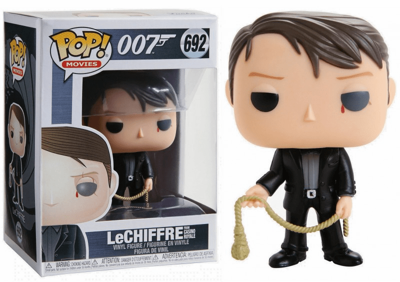 Funko Pop Movies Vinyl 692 James Bond LeChiffre Figure