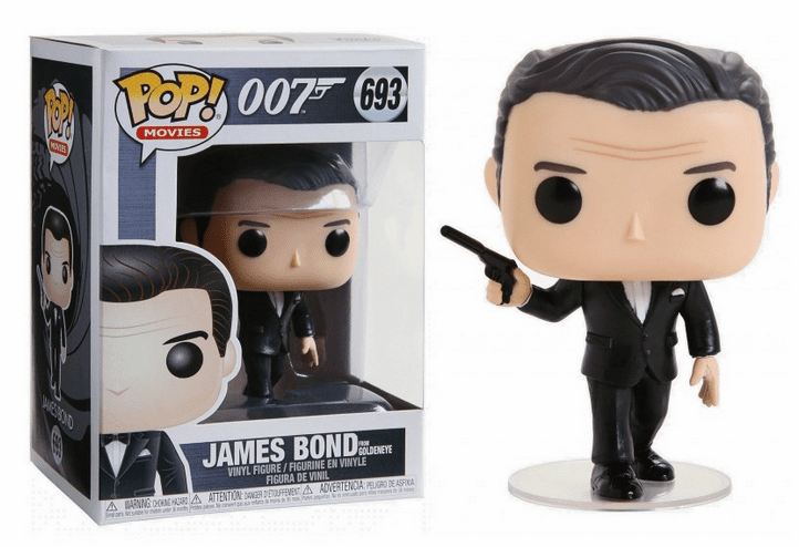 Funko Pop Movies Vinyl 693 James Bond from GoldenEye Figure