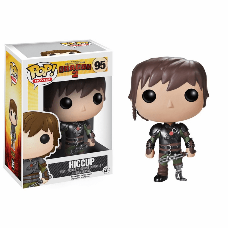 Funko Pop Movies Vinyl 95 How to Train Your Dragon 2 Hiccup Figure