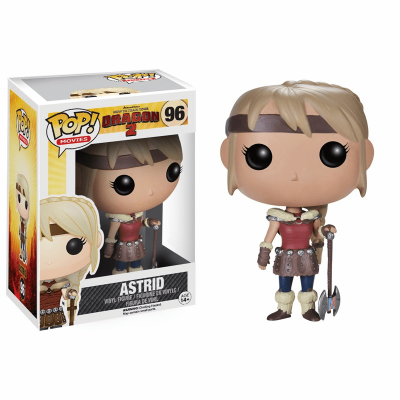 Funko Pop Movies Vinyl 96 How to Train Your Dragon 2 Astrid Figure
