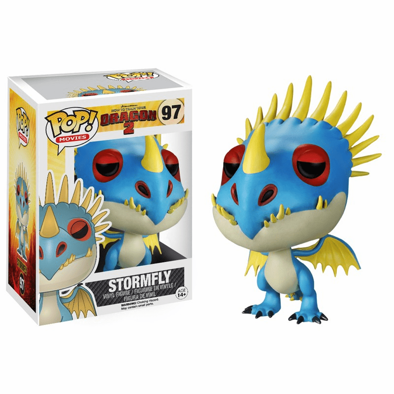 Funko Pop Movies Vinyl 97 How to Train Your Dragon 2 Stormfly Figure
