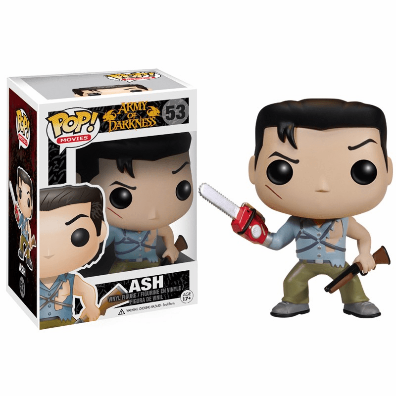 Funko Pop Movies Vinyl Army of Darkness Ash Figure