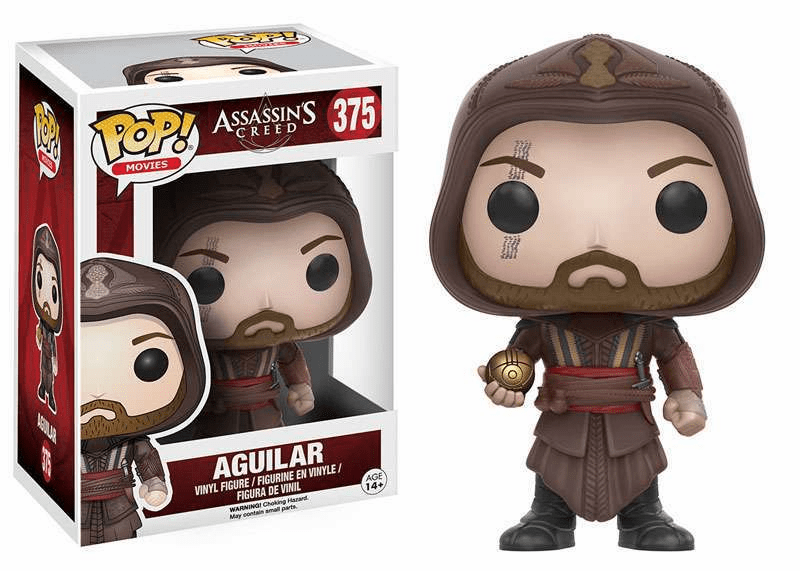 Funko Pop Movies Vinyl Assassin's Creed Aguilar Figure