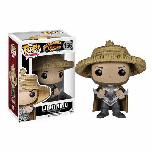 Funko Pop Movies Vinyl Big Trouble in Little China Lightning Figure