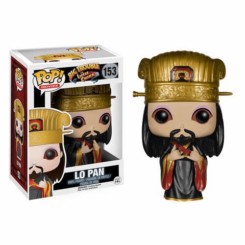 Funko Pop Movies Vinyl Big Trouble in Little China Lo Pan Figure