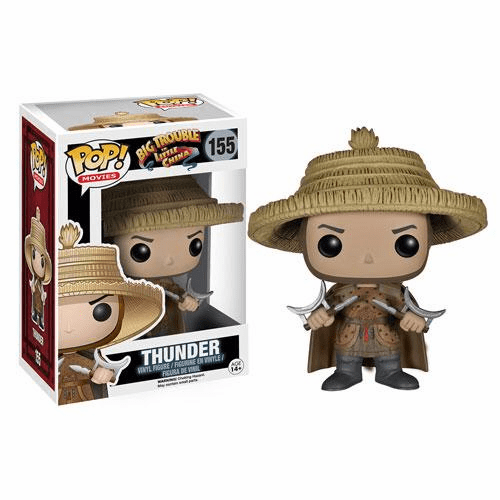 Funko Pop Movies Vinyl Big Trouble in Little China Thunder Figure
