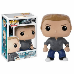 Funko Pop Movies Vinyl Fast and Furious Brian O'Connor Figure