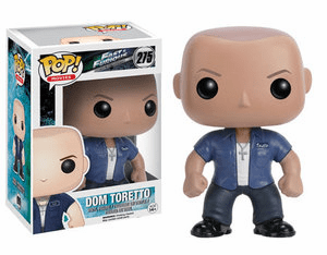 Funko Pop Movies Vinyl Fast and Furious Dom Toretto Figure