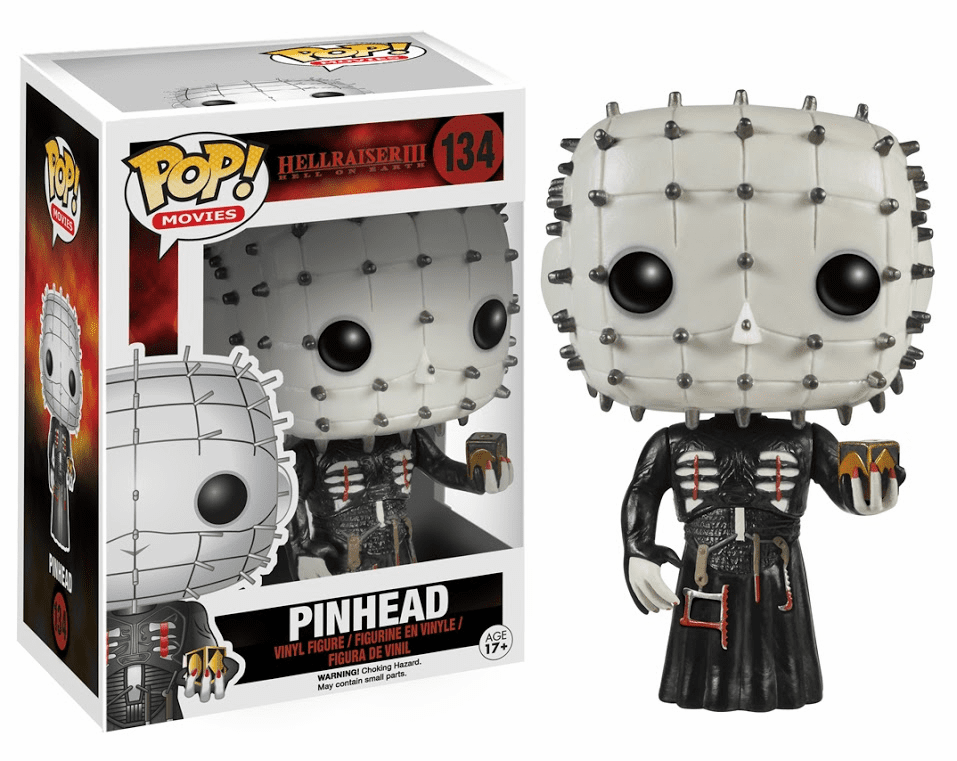 Funko Pop Movies Vinyl Hellraiser III Pinhead Figure