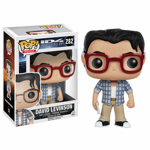 Funko Pop Movies Vinyl Independence Day David Levinson Figure