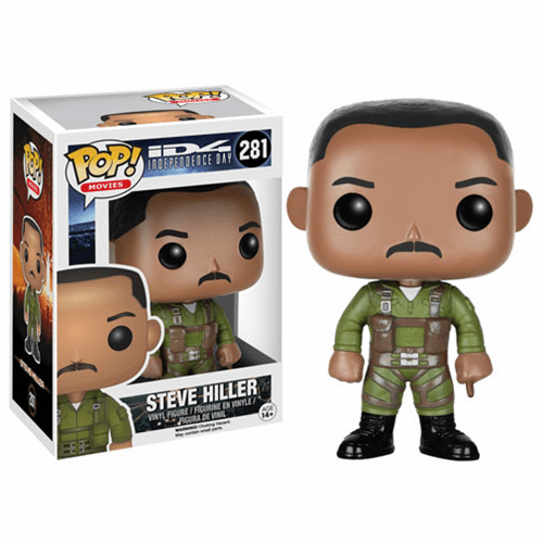 Funko Pop Movies Vinyl Independence Day Steve Hiller Figure