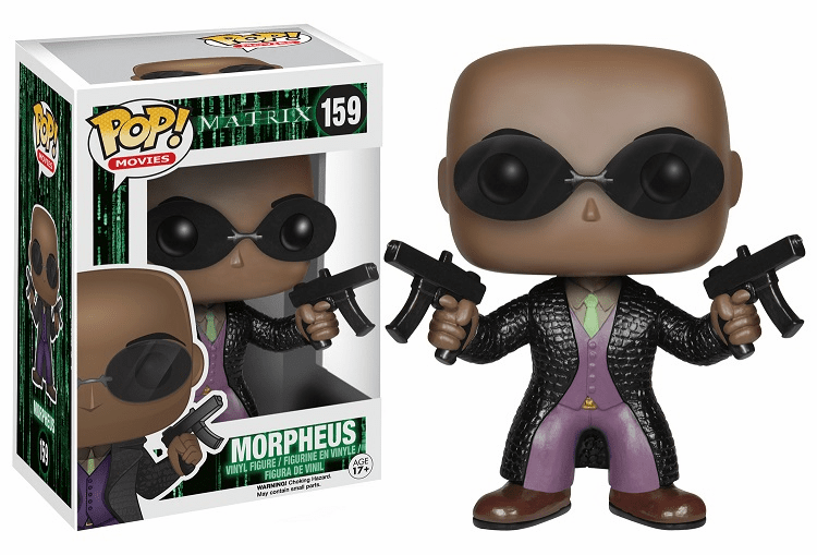Funko Pop Movies Vinyl Matrix Morpheus Figure