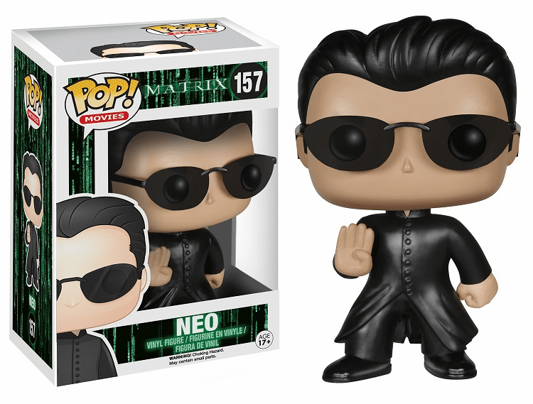 Funko Pop Movies Vinyl Matrix Neo Figure