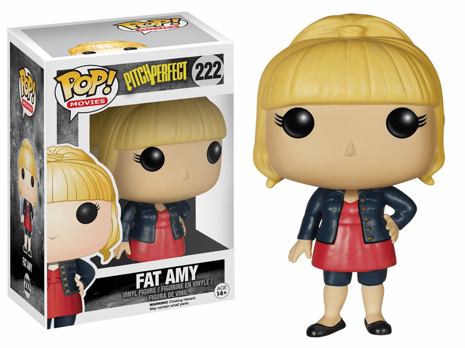 Funko Pop Movies Vinyl Pitch Perfect Fat Amy Figure