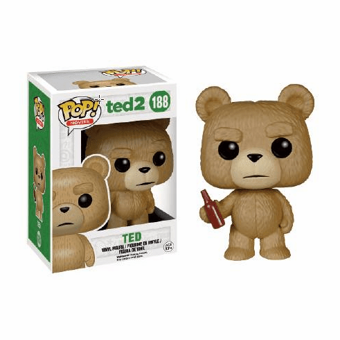 Funko Pop Movies Vinyl Ted 2 Ted with Bottle Figure