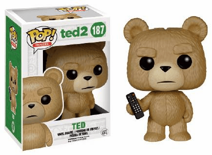 Funko Pop Movies Vinyl Ted 2 Ted with Remote Figure
