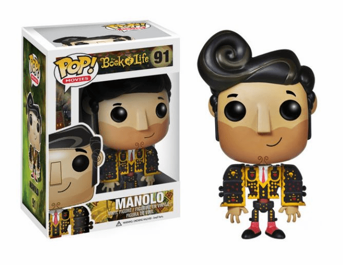 Funko Pop Movies Vinyl The Book of Life Manolo Figure