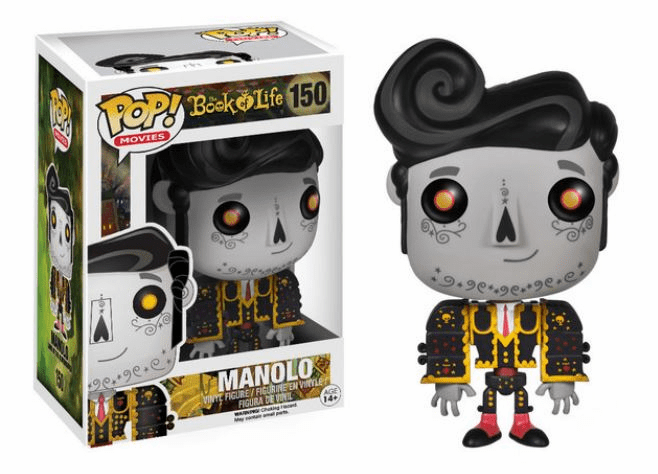 Funko Pop Movies Vinyl The Book of Life Manolo Variant Figure