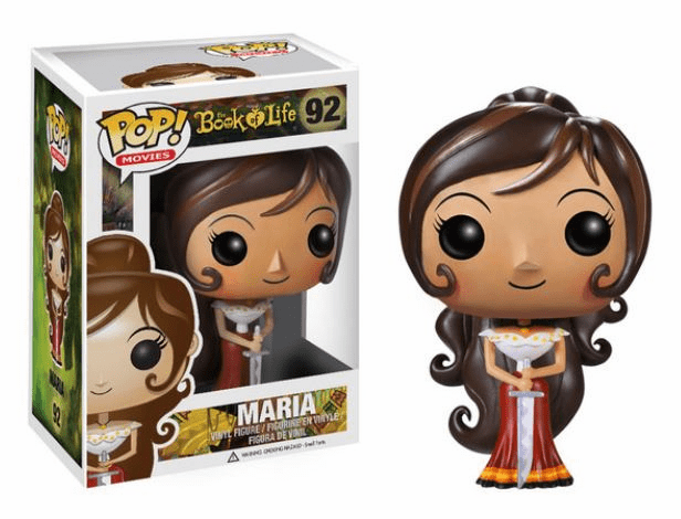 Funko Pop Movies Vinyl The Book of Life Maria Figure