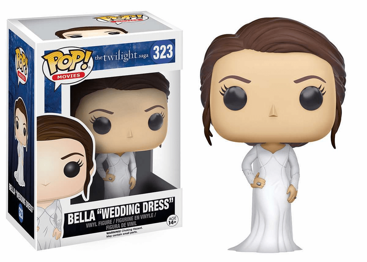 Funko Pop Movies Vinyl The Twilight Saga Bella Wedding Dress Figure