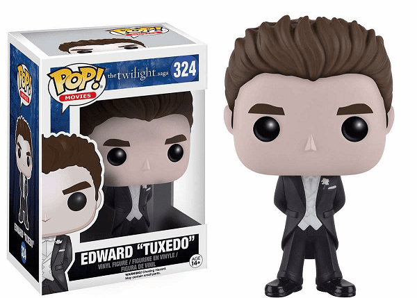 Funko Pop Movies Vinyl The Twilight Saga Edward Tuxedo Figure