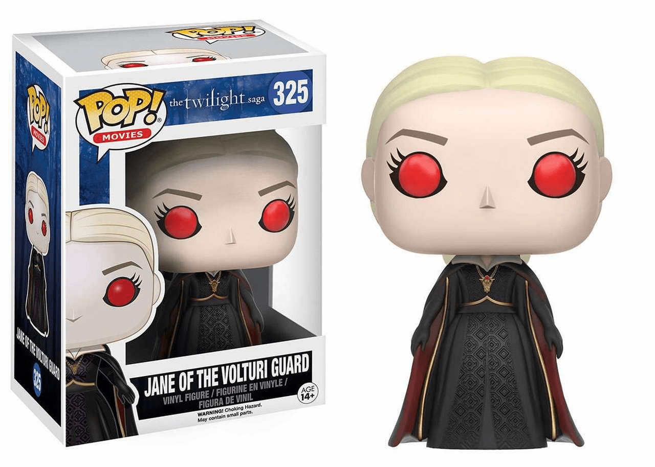 Funko Pop Movies Vinyl The Twilight Saga Jane of The Volturi Guard Figure
