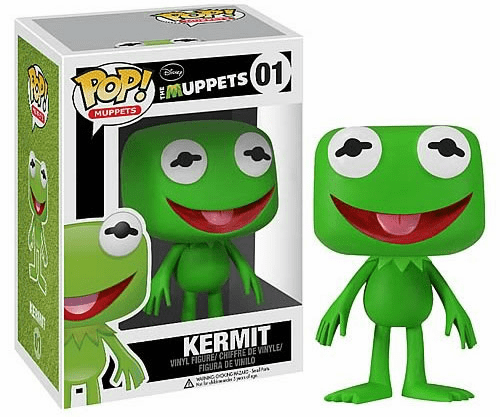 Funko Pop Muppets Vinyl 01 Kermit the Frog Figure