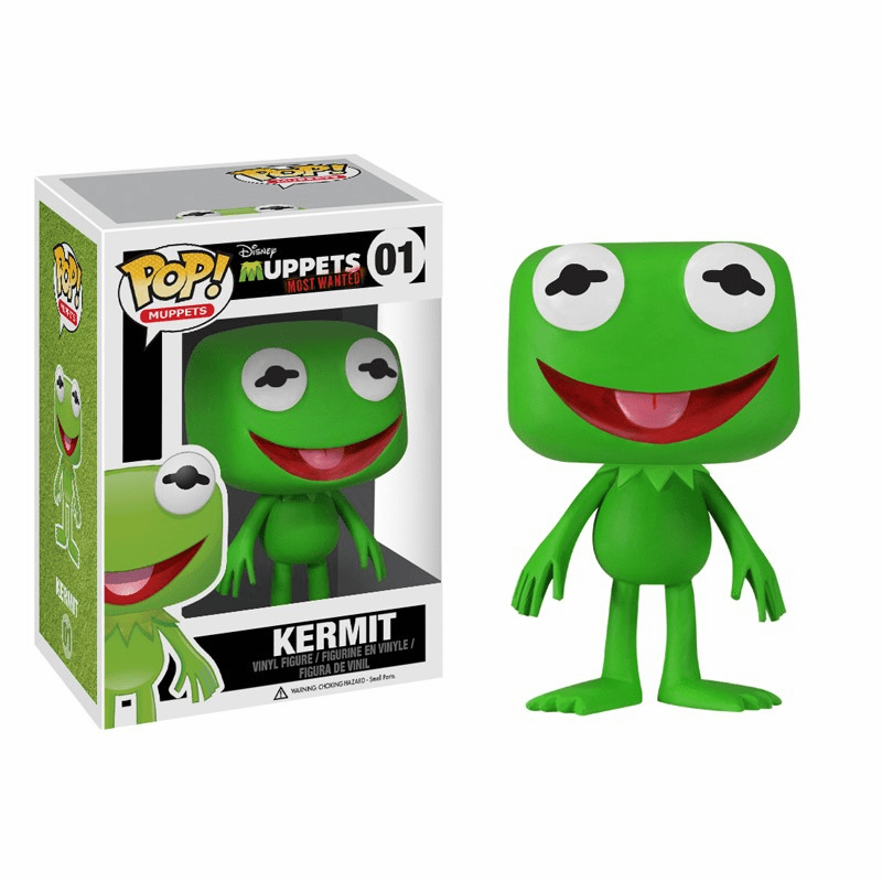 Funko Pop Muppets Vinyl 01 Muppets Most Wanted Kermit the Frog Figure