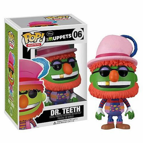 Funko Pop Muppets Vinyl 06 Dr. Teeth Figure
