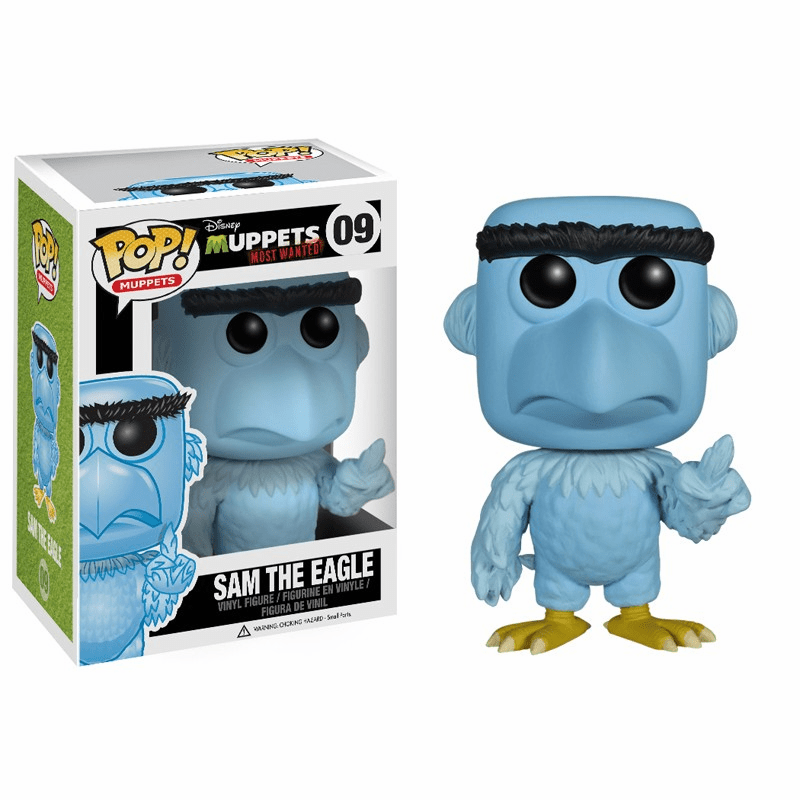 Funko Pop Muppets Vinyl 09 Muppets Most Wanted Sam the Eagle Figure