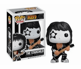 Funko Pop Rock Vinyl 06 KISS The Starchild Figure
