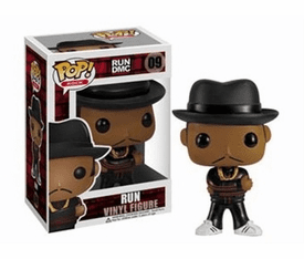 Funko Pop Rock Vinyl 09 RUN DMC RUN Figure