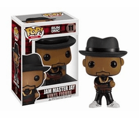 Funko Pop Rock Vinyl 11 RUN DMC Jam Master Jay Figure
