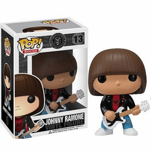 Funko Pop Rock Vinyl 13 Johnny Ramone Figure
