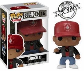 Funko Pop Rock Vinyl 15 Public Enemy Chuck D Figure