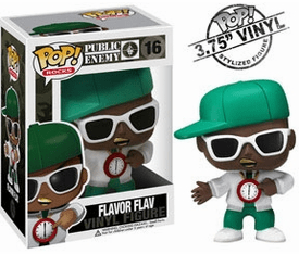 Funko Pop Rock Vinyl 16 Public Enemy Flava Flav Figure