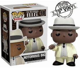 Funko Pop Rock Vinyl 18 Notorious BIG Figure