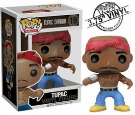 Funko Pop Rock Vinyl 19 Tupac Figure